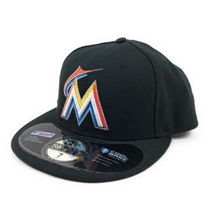 Miami Marlins MLB New Era 59Fifty Fitted Hat Cap